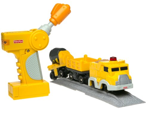 Fisher-Price GeoTrax Rail & Road System Mix 'n Go Work Crew