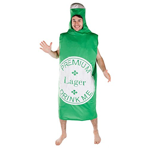 Bodysocks Adult Beer Bottle Fancy Dress