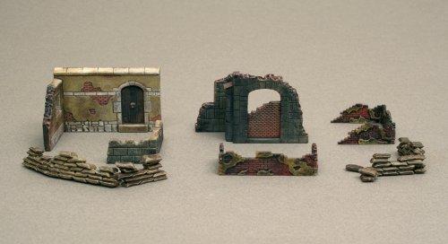 Italeri 1:72 - Walls And Ruins Ii