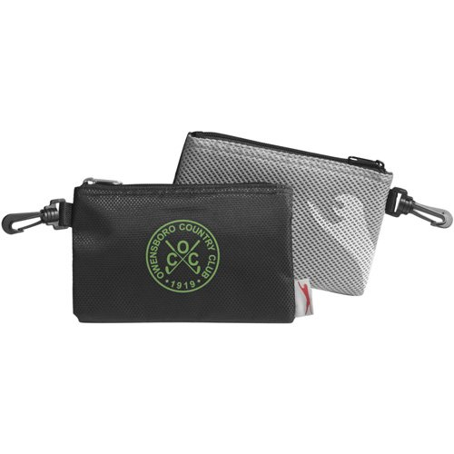 Golf Valuables Accessory Pouch Ditty Tool Bag Zippered ()