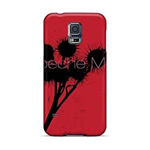 AaronBlanchette Samsung Galaxy S5 Protective Hard Phone Case Customized High Resolution Depeche Mode Band Pattern [Yhe7671BeTX]