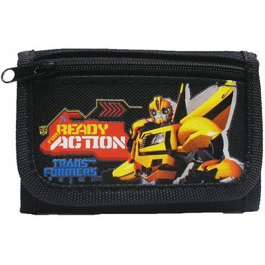 Transformers Black Tri Fold Wallet product image