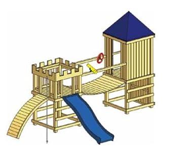 Ante Holz Haus Und Garten Gmbh Spielburg Arthur Variante 4