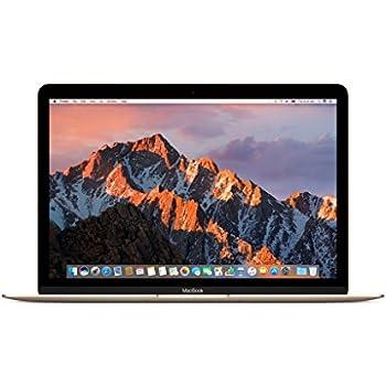 "Apple MNYK2LL/A 12"" MacBook, Retina, 1.2GHz Intel Core m3 Dual Core Processor, 8GB RAM, 256GB SSD, Mac OS, Gold (Newest Version)"