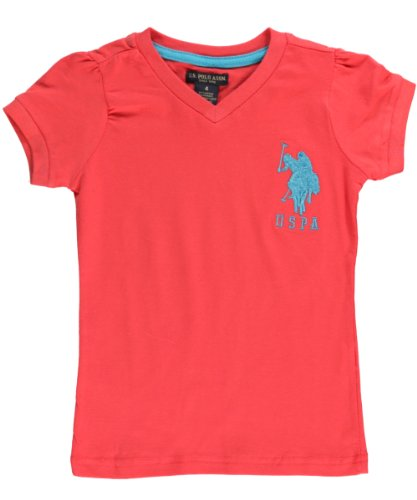 "U.S. Polo Assn. ""Fitted Classic"" V-Neck T-Shirt"