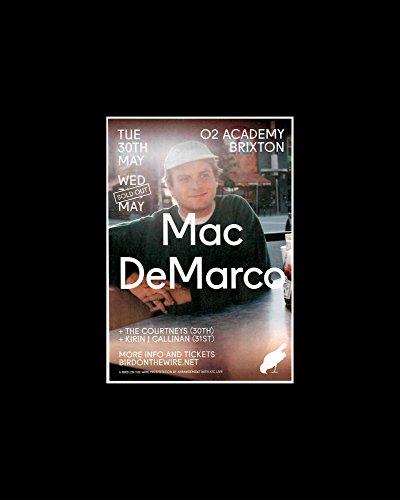 mac demarco tour poster