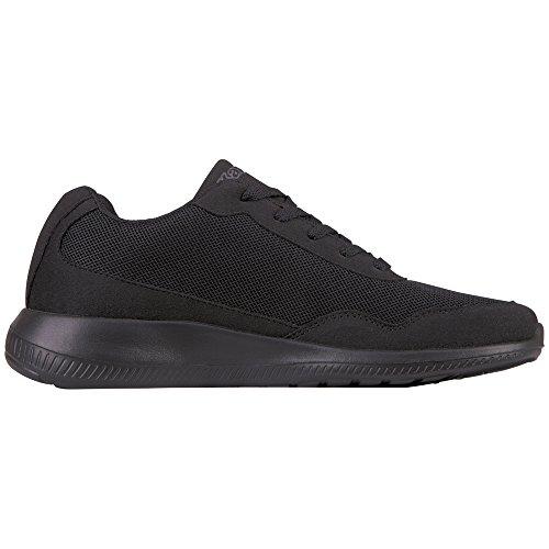 XL Follow Kappa Sneaker Unisex Schwarz Grey 1116 Black OC Erwachsene rqqxI6H