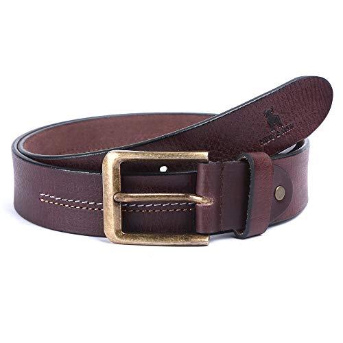 HIDE & SKIN Jackson Leather Belt for Men