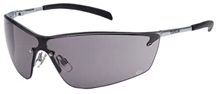 734a00758c7 Bolle Silium - Silium Smoked Lens Safety Glasses Metal Frame ...