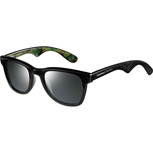 Carrera Mens 6000JCM/S Sunglasses, Black Gray Camo/Gray SP Silver, One - Jimmy Mens Choo Sunglasses