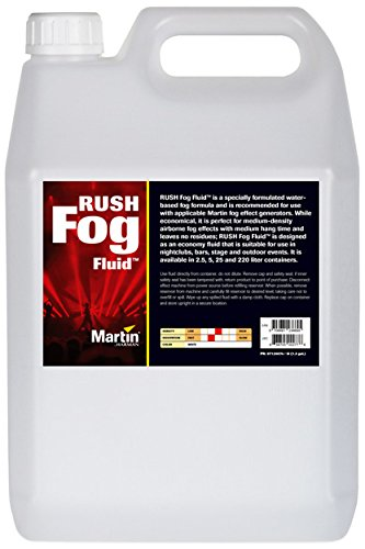 Martin RUSH Fog Fluid for Fog Effects Generators, 5L (case of 4) by Martin (Image #2)