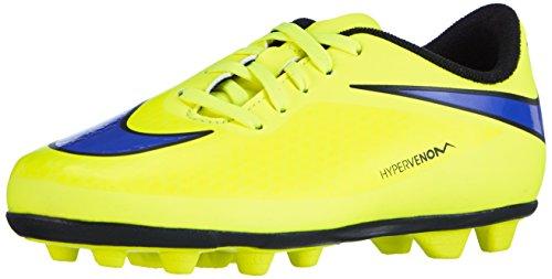 Nike Hypervenom Phade FG-R - Zapatillas de fútbol Unisex Niños Amarillo (volt/persian violet-ht lv-blck 758)