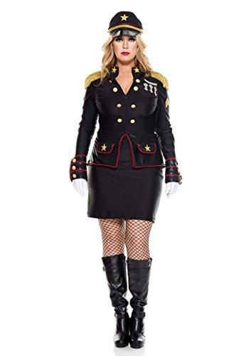 Music Legs Women's Plus Size Military General