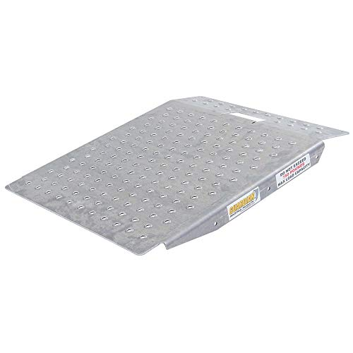 (Guardian SR-01-24-24-P-TS6 Shed Ramp with Punch Plate Surface)