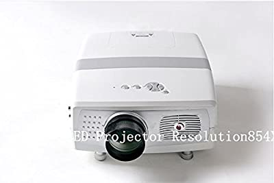 GOWE LED Projector Resolution854X540 2000lumens 900:1 (16: 9 and 4:3) 20000hours