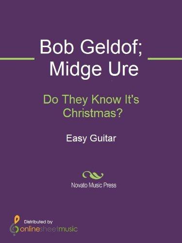 Do They Know It's Christmas? - Bob Aid Geldof Band
