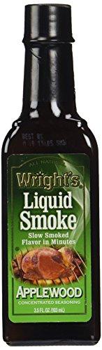 Wrights Seasoning Applewood Liquid Smoke, 3.5 oz