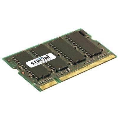 Crucial Technology CT3264X335 256MB 200-Pin PC2700 333Mhz SODIMM DDR RAM Memory