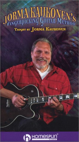 VHS-Jorma Kaukonen's Fingerpicking Guitar Method by Homespun Tapes