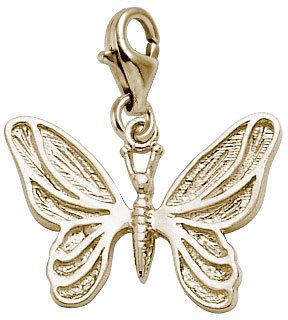 Rembrandt Charms Butterfly Charm with Lobster Clasp