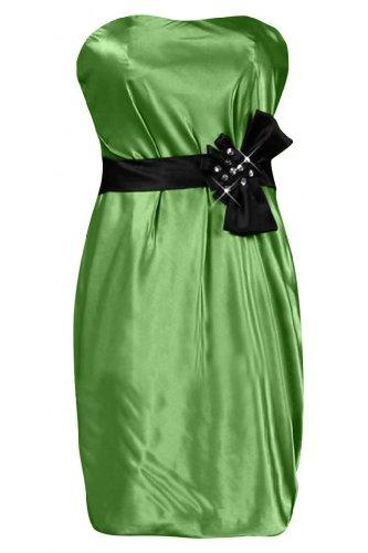 moderno d'onore damigella Sunvary Abito da spalline Mini senza Green Cocktail per Abito pdqqnO