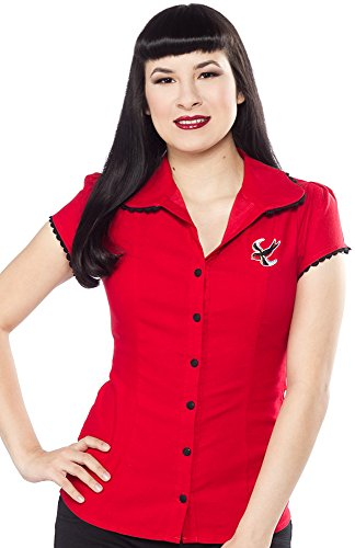 Sourpuss-Darling-Sparrow-Top-Red