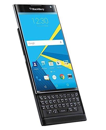 BlackBerry Priv STV100-1 32GB Unlocked GSM 4G LTE Quad-Core Slider Smartphone w/ 18MP Camera - Black (Certified Refurbished)