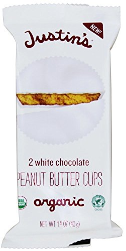 Justin's White Chocolate Peanut Butter Cups, 1.4 oz