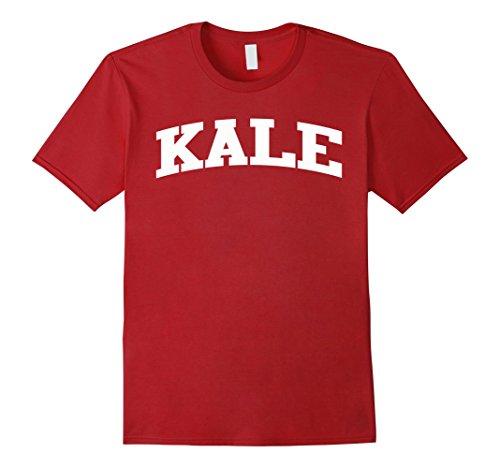 mens-kale-white-logo-t-shirt-vegetarian-healthy-eco-style-shirts-large-cranberry