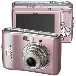 (Nikon Coolpix L15 8MP Digital Camera with 3x Optical Vibration Reduction Zoom (Pink))