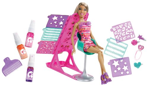 Barbie Hairtastic Color and Design Salon Nikki Doll (Hairtastic Barbie Dolls)