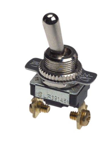 Gardner Bender GSW-17 Toggle Switch, SPST, ON-OFF - 120v Spst Single