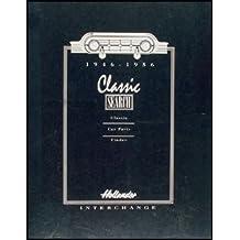1946-1956 Hollander U.S. Parts Interchange Manual