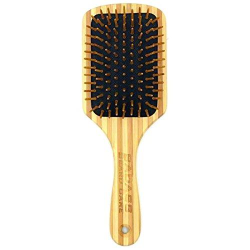 Badass Beard Care Wood Bristle Beard Brush For Men - Anti-static, 100% Bamboo & Light Weight by Badass Beard Care