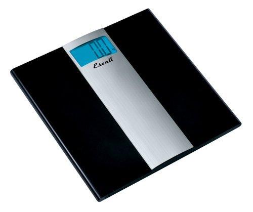 Escali US180B Ultra Slim Digital Bathroom Scale, 400Lb/180Kg by Escali