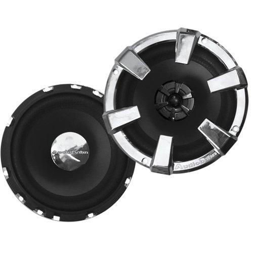 Audiobahn 6-1/2-Inch 2-Way AS Series Full Range Speakers with Removable (Audiobahn Surround Speakers)