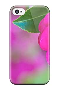 New Paula S Roper Super Strong Pretty Pink Rose In Bloom Tpu Case Cover For Iphone 4/4s