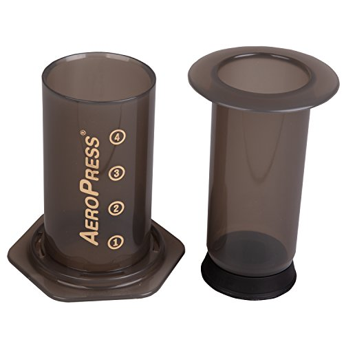 AeroPress Coffee and Espresso Maker with Bonus 350 Micro Filters (700 Total)