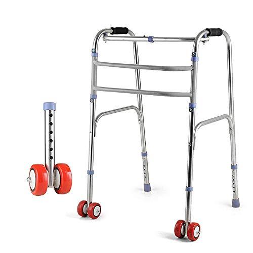 Marco para caminar ultra estrecho con ruedas, andador para ...