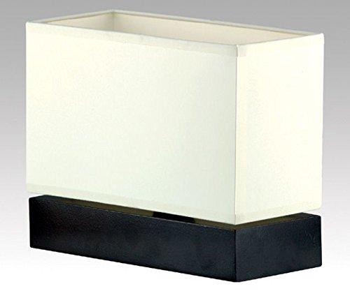 Bauhaus - Lámpara de mesa (en negro, crema, altura 20 cm ...