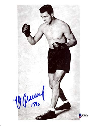 227f6125d9c Autographed Max Schmeling Photo - 8x10 Beckett BAS  B26918 - Beckett  Authentication - Autographed Boxing Photos at Amazon s Sports Collectibles  Store