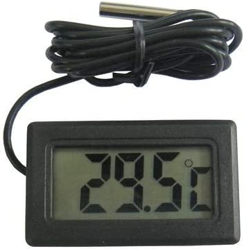 DENG XIA Mini termómetro Digital LCD para refrigerador/congelador ...