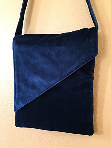 Plush Upholstery (Louise 1600A Upholstery Velvet Purse or Lap Top Bag. Plush)
