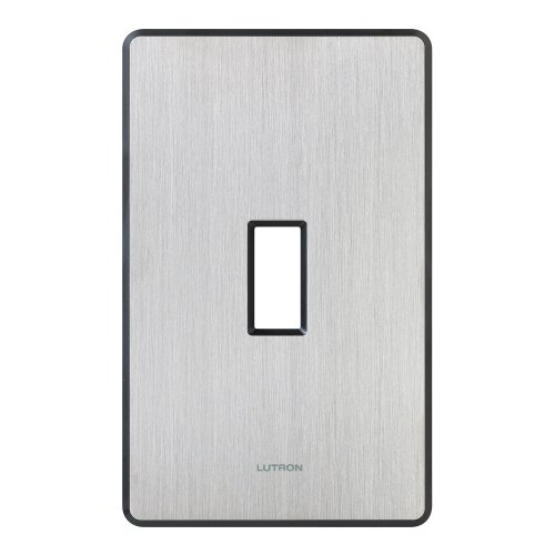 Lutron FW-1-SS Fassada 1-Gang Wall plate, Stainless Steel by Lutron