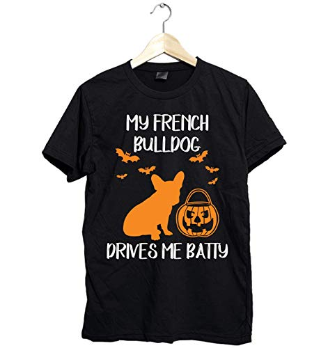 Amazing French Bulldog shirt -Funny Gift for French Bulldog Lover this Halloween- Unisex Style Size Up to 6XL - Fast Shipping]()