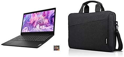 Lenovo IdeaPad 3 15″ Laptop, 15.6″ AMD Ryzen 3 and 15.6 inch Laptop Shoulder Bag T210 Toploader