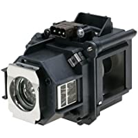 Electrified ELPLP47 Replacement Lamp with Housing for Epson Projectors