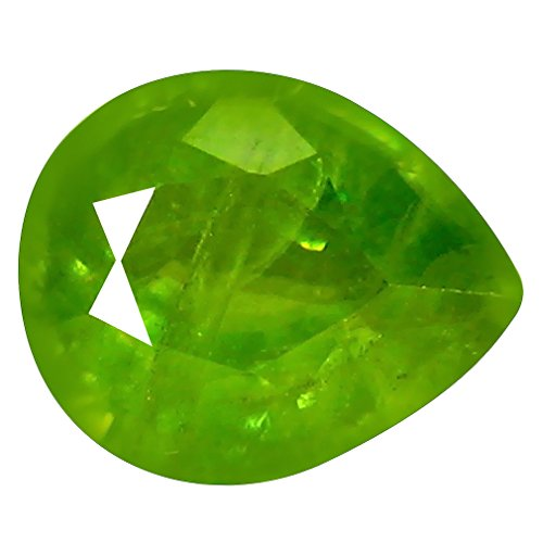 Deluxe Gems 1.22 ct Pear (8 x 6 mm) Pakistan Un-Heated Pakistan Sphene Natural Loose ()