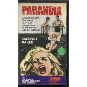 Amazon.com: Paranoia (aka Orgasmo) (1969) [VHS]: Carroll