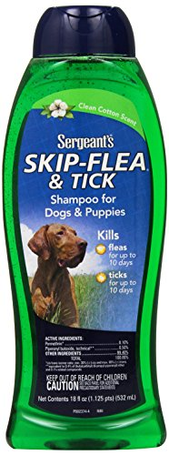 Sergeants Skip Flea Shampoo Clean Cotton product image